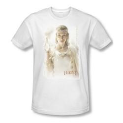The Hobbit - Mens Galadriel T-Shirt In White