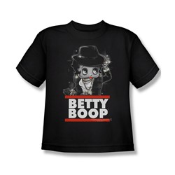 Betty Boop - Big Boys Bling Bling Boop T-Shirt In Black