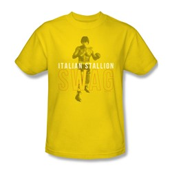 Mgm - Mens Rocky T-Shirt In Yellow