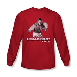 Mgm - Mens Rocky Long Sleeve Shirt In Red