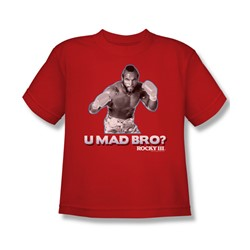 Mgm - Big Boys Rocky T-Shirt In Red