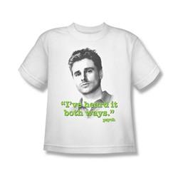 Psych - Big Boys Both Ways T-Shirt In White