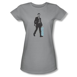 Suits - Womens Walking T-Shirt In Silver