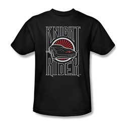 Knight Rider - Mens Logo T-Shirt In Black