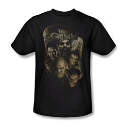 Grimm - Mens Wesen T-Shirt In Black