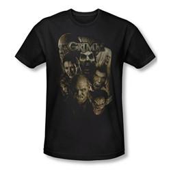 Grimm - Mens Wesen T-Shirt In Black