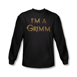 Grimm - Mens I'M A Grimm Long Sleeve Shirt In Black
