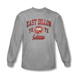 Friday Night Lights - Mens Athletic Lions Long Sleeve Shirt In Heather