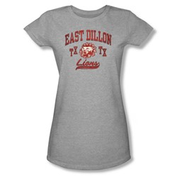 Friday Night Lights - Womens Athletic Lions T-Shirt In Heather