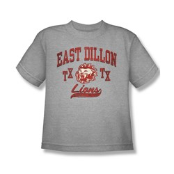 Friday Night Lights - Big Boys Athletic Lions T-Shirt In Heather