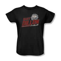 Friday Night Lights - Womens Athletic Lions T-Shirt In Black