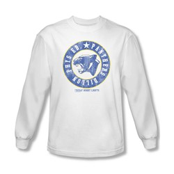 Friday Night Lights - Mens Phys Ed Long Sleeve Shirt In White