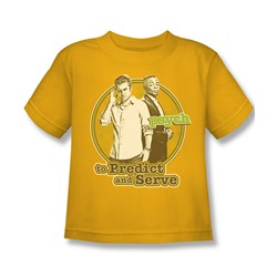 Psych - Little Boys The Boys T-Shirt In Gold