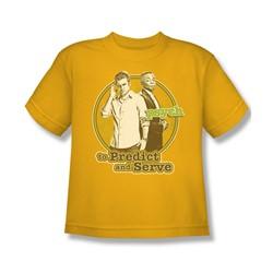 Psych - Big Boys The Boys T-Shirt In Gold