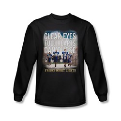 Friday Night Lights - Mens Motivated Long Sleeve Shirt In Black