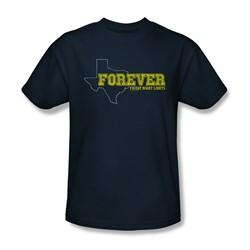 Friday Night Lights - Mens Texas Forever T-Shirt In Navy