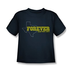 Friday Night Lights - Juvy Texas Forever T-Shirt In Navy