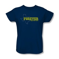 Friday Night Lights - Womens Texas Forever T-Shirt In Navy