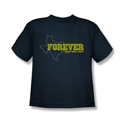 Friday Night Lights - Youth Texas Forever T-Shirt In Navy