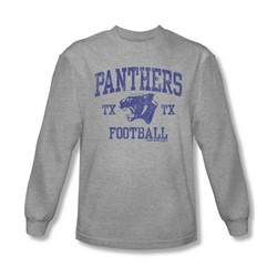 Friday Night Lights - Mens Panther Arch Long Sleeve Shirt In Heather