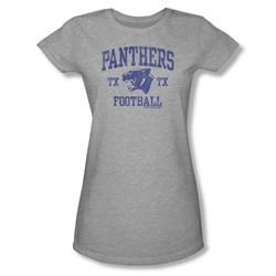 Friday Night Lights - Womens Panther Arch T-Shirt In Heather