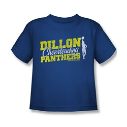 Friday Night Lights - Little Boys Cheer Squad T-Shirt In Royal