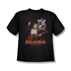 School Of Rock - Big Boys The Teacher Is In T-Shirt In Black