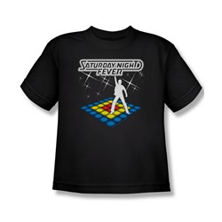 Saturday Night Fever - Big Boys Should Be Dancing T-Shirt In Black