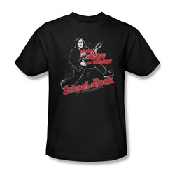 School Of Rock - Mens Rockin T-Shirt In Black