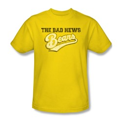 Bad News Bears - Mens Logo T-Shirt In Yellow