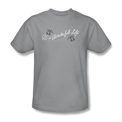 Its A Wonderful Life - Mens Logo T-Shirt In Silver