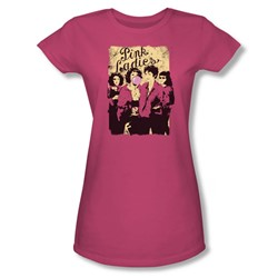 Grease - Womens Pink Ladies T-Shirt In Hot Pink