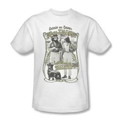 Up In Smoke - Mens Labrador T-Shirt In White
