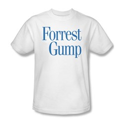 Forrest Gump - Mens Logo T-Shirt In White