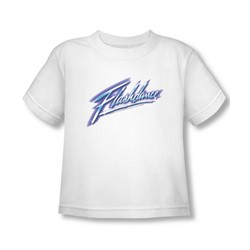 Flashdance - Toddler Logo T-Shirt In White