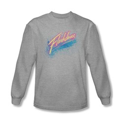 Flashdance - Mens Spray Logo Long Sleeve Shirt In Heather