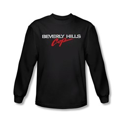 Beverly Hills Cop - Mens Logo Long Sleeve Shirt In Black