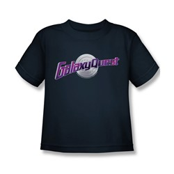 Galaxy Quest - Little Boys Logo T-Shirt In Navy