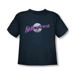Galaxy Quest - Toddler Logo T-Shirt In Navy