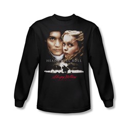 Sleepy Hollow - Mens Heads Will Roll Long Sleeve Shirt In Black