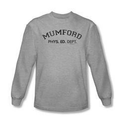 Beverly Hills Cop - Mens Mumford Long Sleeve Shirt In Heather