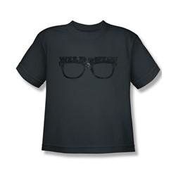 Major League - Big Boys Wild Thing T-Shirt In Charcoal