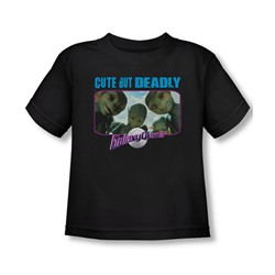 Galaxy Quest - Toddler Cute But Deadly T-Shirt In Black