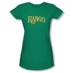 Rango - Womens Logo T-Shirt In Kelly Green