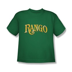 Rango - Big Boys Logo T-Shirt In Kelly Green