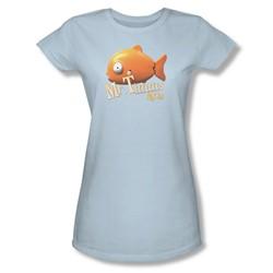 Rango - Womens Mr Timms T-Shirt In Light Blue