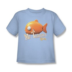 Rango - Little Boys Mr Timms T-Shirt In Light Blue