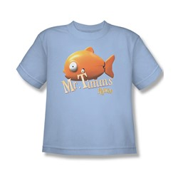 Rango - Big Boys Mr Timms T-Shirt In Light Blue