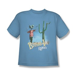 Rango - Big Boys Blend In T-Shirt In Carolina Blue