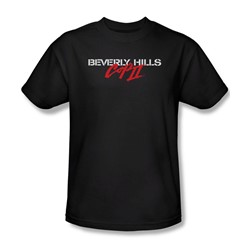 Beverly Hills Cop Ii - Mens Logo T-Shirt In Black